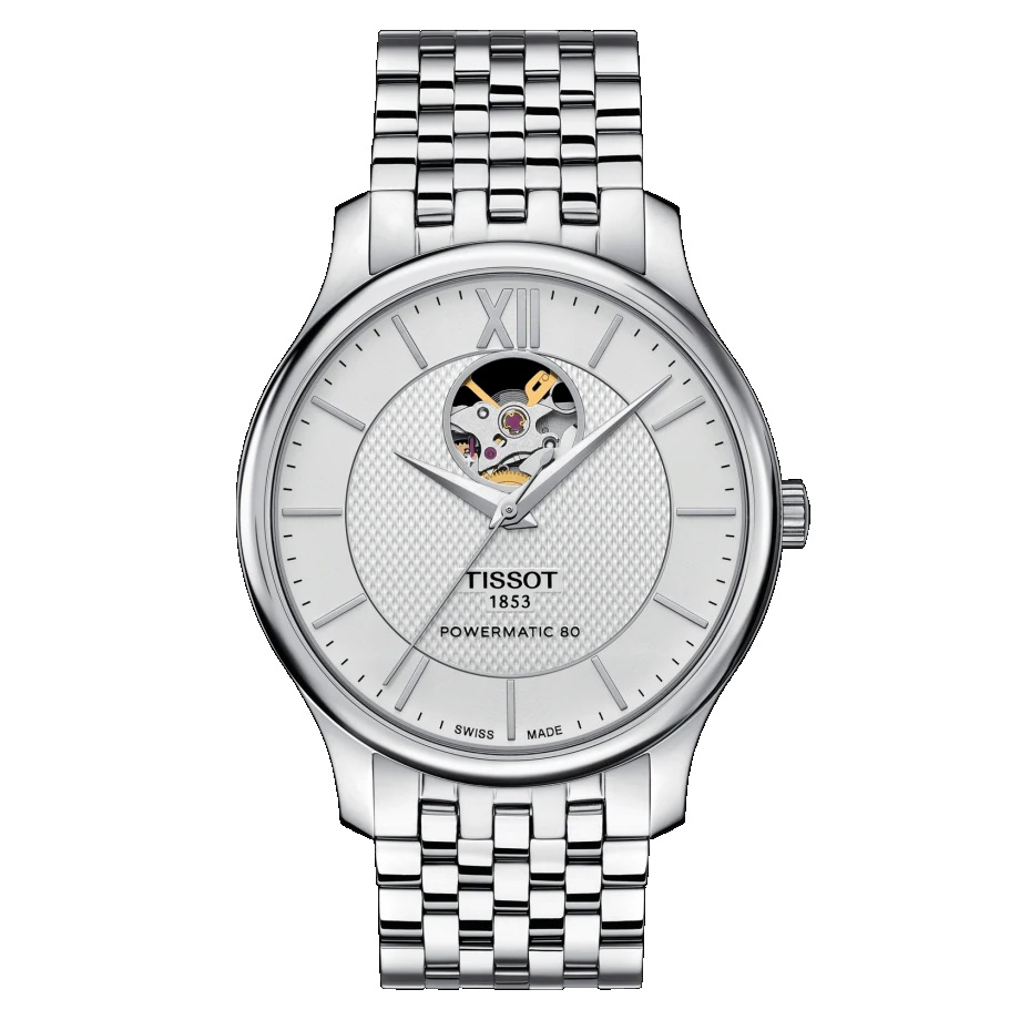 TISSOT TRADITION Automatic Open Heart T063.907.11.038.00
