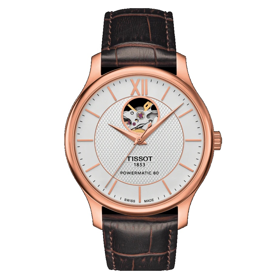 T063.907.36.038.00 TISSOT TRADITION Automatic Open Heart